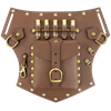 Steampunk Utility Hip Pouch Belt Slide