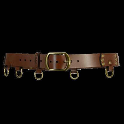 Steampunk Gear D-Ring Belt
