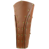 Dark Rogue Leather Greaves