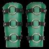 Berserker Leather Arm Bracers