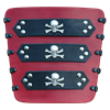Jolly Roger Pirate Bracers