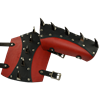 Impaler Leather Arm Bracers