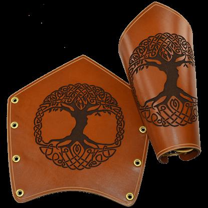 Celtic Tree of Life Arm Bracers