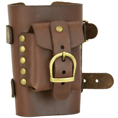 Wrist Cuff with Small Pouch