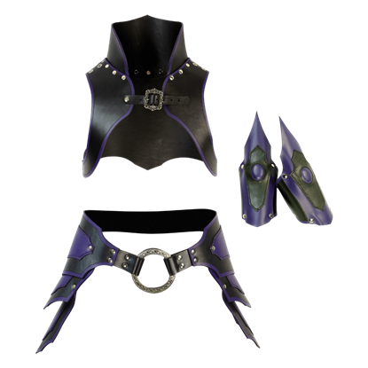 Dark Sorceress Fantasy Armour Set