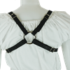 Plain Gothic Leather Bra