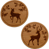 Woodland Deer Coaster Set