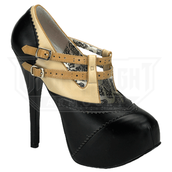 Steampunk Lady's Heels