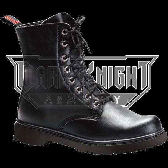 Mens Classic Short Combat Boots