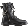 Mens Chained Combat Boots