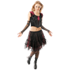 Gothic Short Skirt with Netting