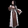 Ladies Layered Medieval Dress