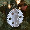 3-D Steampunk Gear Ornament Set of 6