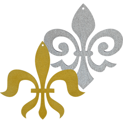 Fleur de Lis Ornament Set of 6