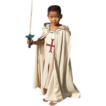 Childs Crusader Cape And Tunic