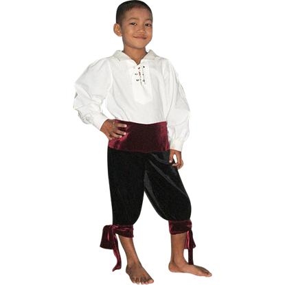 Childs Pirate Pants