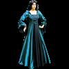 Medieval Demoiselle Dress