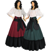 Medieval Skirt with Pouch
