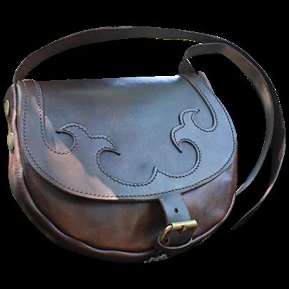 Leather Shoulder Bag