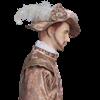 Mens Royal Tudor Hat