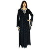 Womens Crushed Velvet Medieval Gown