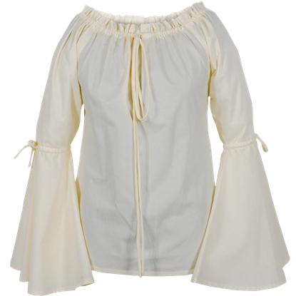 Bell Sleeved Medieval Blouse