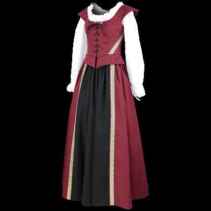 Celtic Maiden Skirt and Bodice Ensemble