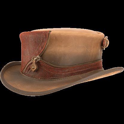 Eureka Zippered Steampunk Hat