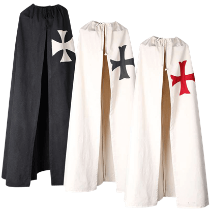 Carl Canvas Crusader Cloak