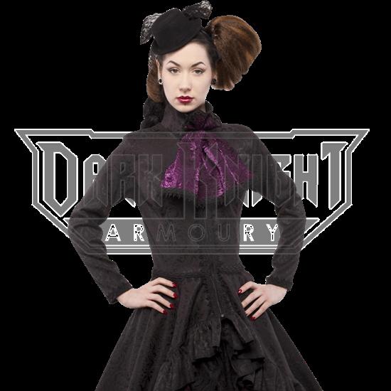 Gothic Brocade Cravat Coat