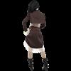 Steampunk Striped Button Bolero Jacket