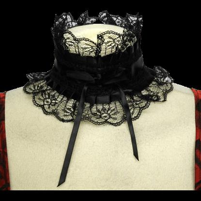 Victorian Lace and Ribbon Choker