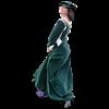 Spanish Saya Gown