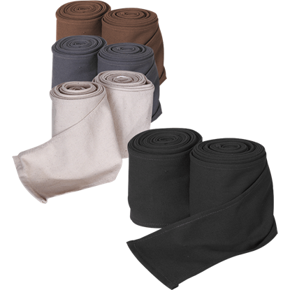 Canvas Hamond Leg Wraps