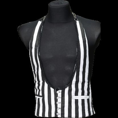 Gothic Striped Waistcoat