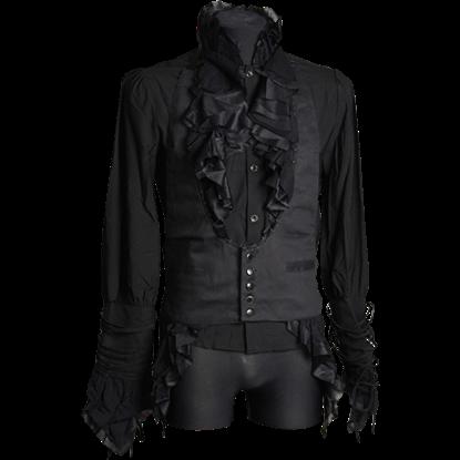 Gothic Black Waistcoat