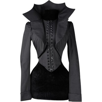 Black Evil Queen Jacket