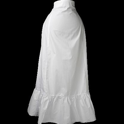 White High Waist Skirt