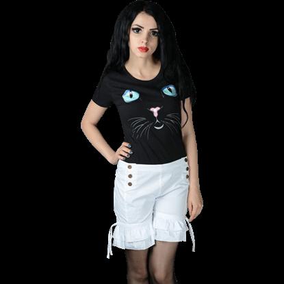 White Bloomer Shorts