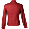 Gothic Red Cotton Marquis Shirt