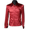 Gothic Red Satin Marquis Shirt