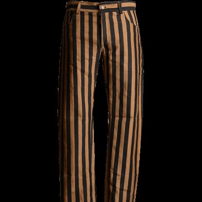 Steampunk Striped Pants