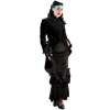Black Velvet Dress Coat