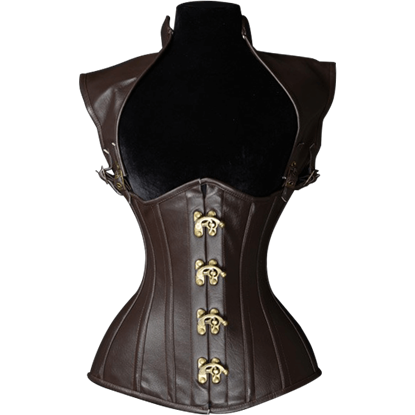 Steampunk Brown Underbust Corset