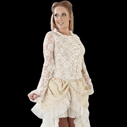 Sarah Victorian Lace Top