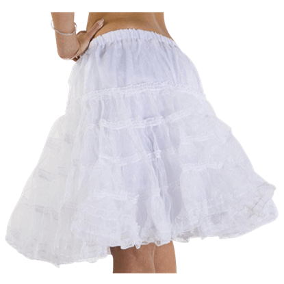 Classic Layered Mesh Petticoat