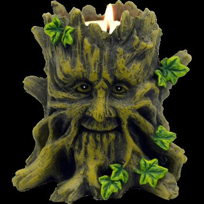 Greenman Tealight Holder