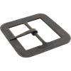 Hand-Forged Black Square Buckle