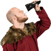 Gungnir Drinking Horn with Stand