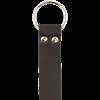 Leather Medieval Ring Belt - Black